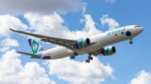Entre las entregas de Airbus en agosto estuvo el primer A330-900 de la portuguesa Orbest.