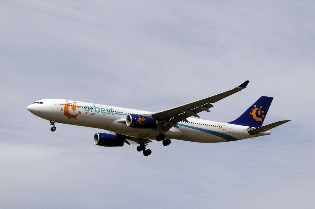 Airbus A330 de Orbest