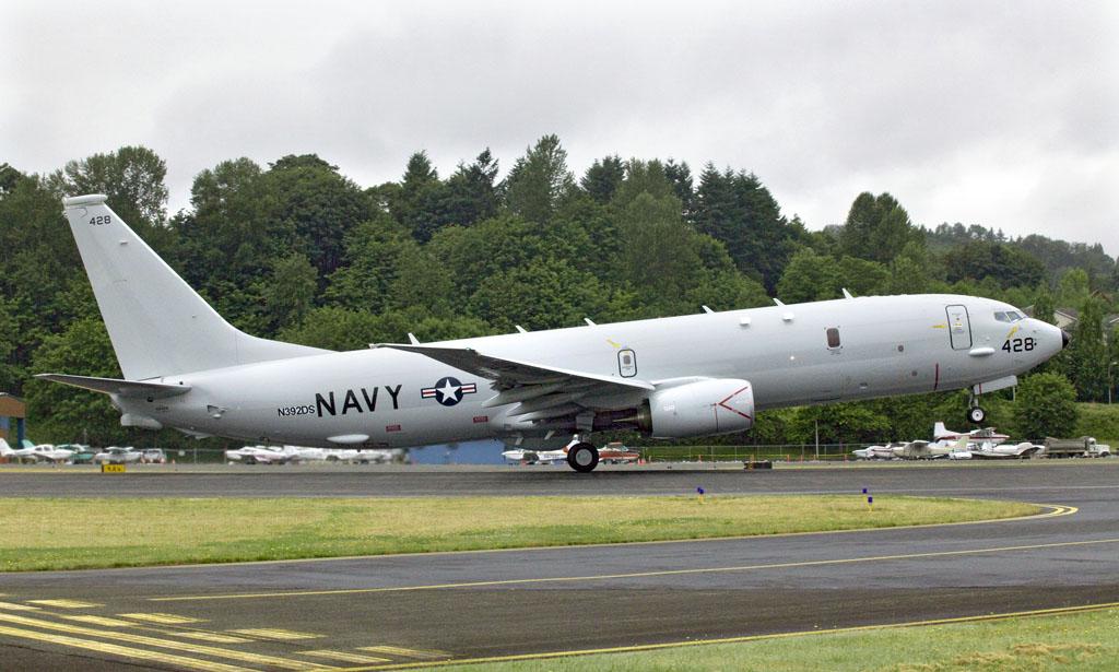 Primer vuelo del P-8 Poseidon de serie
