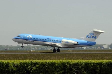 KLM Cityhopper llegó a contar con 49 Fokker 70 como este y Fokker 100 (la versión de 100 plazas)