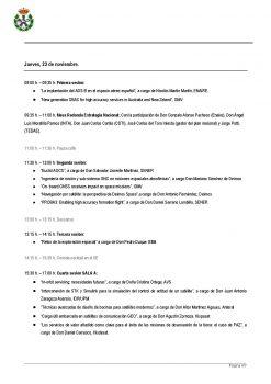 Programa del II Congreso de Ingeniería Espacial Página 4