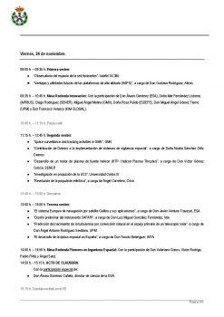 Programa del II Congreso de Ingeniería Espacial Página 6