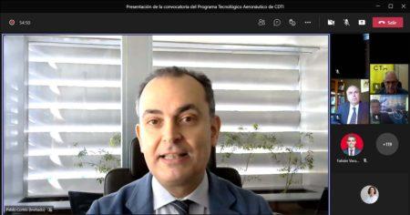 Presentado el Programa Tecnológico Aeronáutico en Andalucía