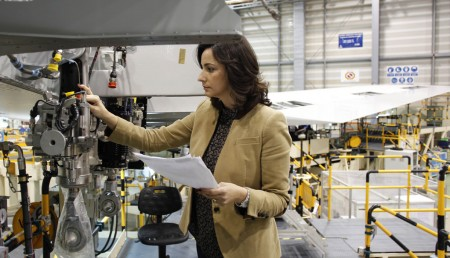 Eva Briosso, de Airbus Operations en Puerto Real