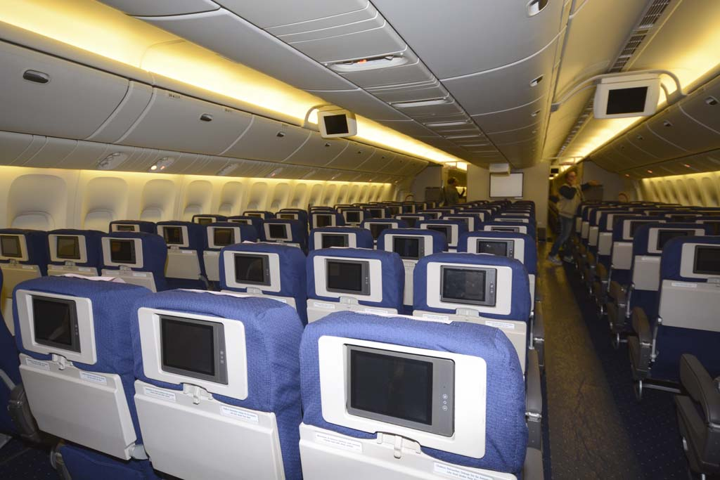 Privilege ha mantenido los asientos de Asiana pero con una nueva tapicería.