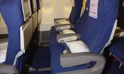 Asientos de clase turista del Boeing 777 de Privilege.