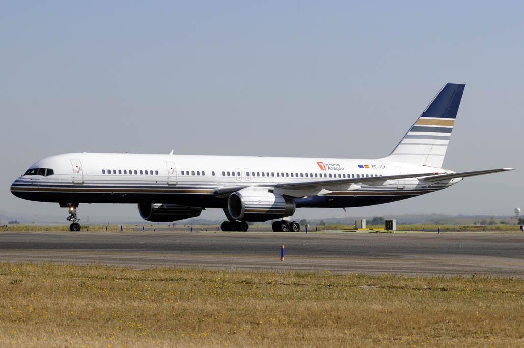 Boeing 757 de Privilege Style.