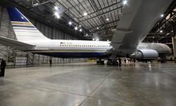 La decoración de los aviones de Privilege fue diseñada por el hijo de Chema Álvarez, presidente y fundador de la compañía.