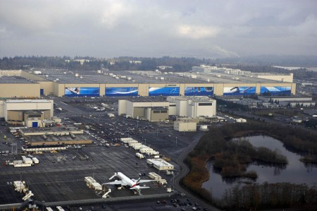 Instalaciones de Boeing Commercial Airplanes en Paine Field