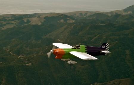 Avión del Panavia International Air Racing Team