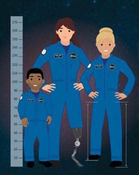 Ciertas discapcidades físicas permitirán presentarse al cuerpo de Parastronautas de la ESA.
