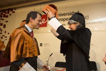 Pedro Duque, nuevo doctor honoris causa por la UEM