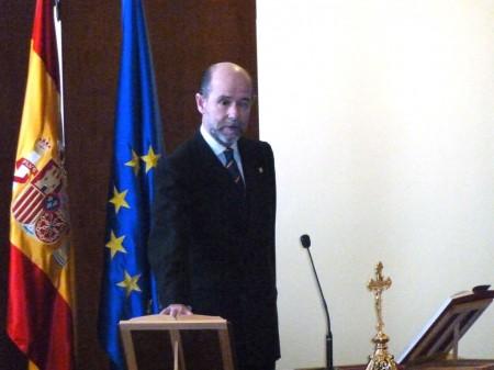 Pedro Argüelles jura su nuevo cargo como secretario de Estado de Defensa