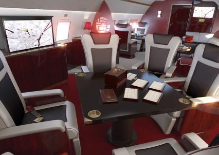Interior Phoenix de Airbus