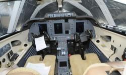 El cockpit incorpora las últimas tecnologías