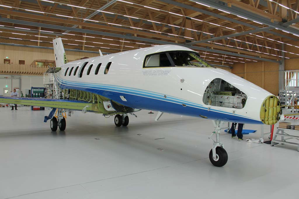 Pilatus está acelerando la producción del PC-24 de cara a iniciar las entregas antes del final de 2017.