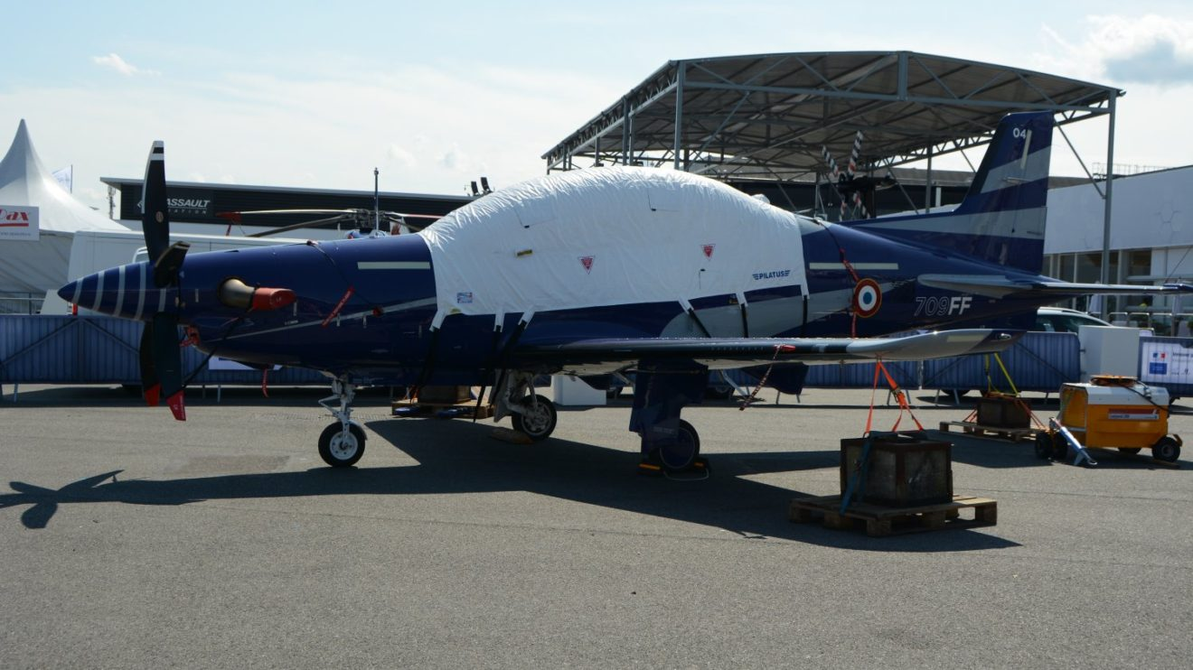 Pilatus PC-21 del Ejército del Aiere francés.