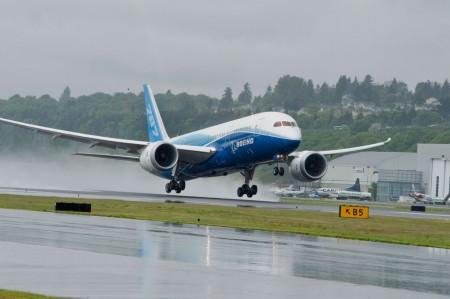 Los vuelos de instrucción se realizaron en el Estado de Washington