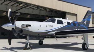 Piper M600/SLS equipado con el sistema HALO.