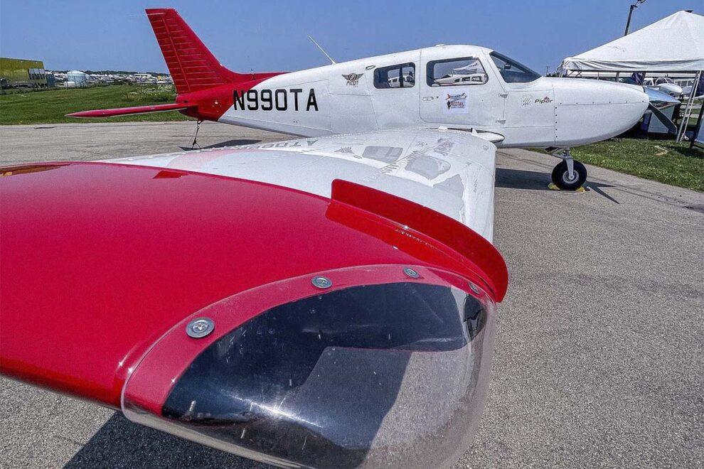 Uno de los primeros Piper Pilot 100i entregados en EE.UU.