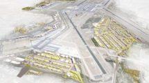Aspecto que tendrá el aeropuerto de Madrid Barajas al completarse las obras de ampliación previstas.