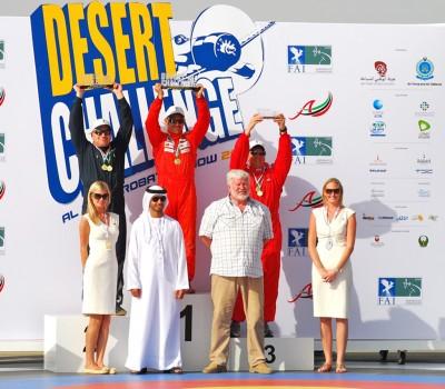 castor Fantoba, ganador en Al Ain