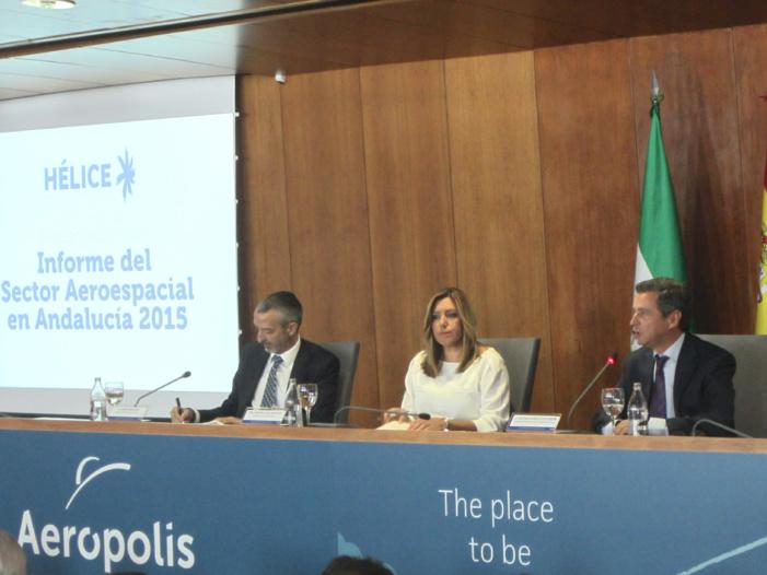 Las empresas aeronáuticas andaluzas se constituyen en asociación empresarial para reforzar su papel en el clúster aeroespacial Hélice.