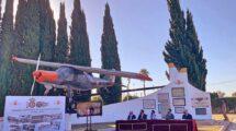 Presentación del Raid Aéreo del Centenario en Tablada.