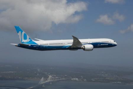 El Boeing 787-10 es 5,5 metros más largo que el B-787-9.
