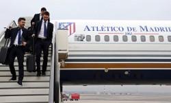 El Atlético de Madrid ya ha usado en otras ocasiones los aviones de Privilege para sus desplazamientos, como por ejemplo a Milán para el partido de octavos de final de la UEFA Champions League de 2014.