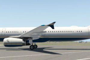 Este es el aspecto que tendrá el primer Airbus con la librea de Privilege Style.