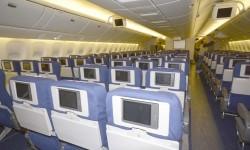 271 asientos forman la clase turista del Boeing 777 de Privilege Style.