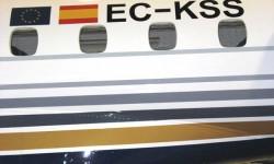El EC-KSS fue usado antes por Lagunair.
