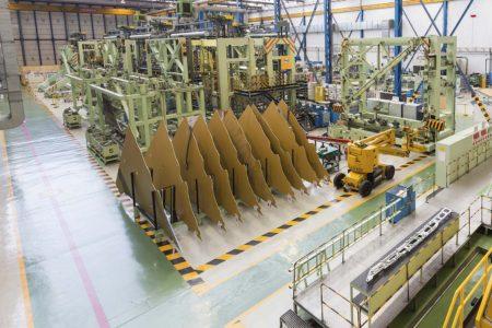 pocas semanas que Alemania firme la compra de 28 Eurofighter,cuyas alas derechas se fabrican en Getafe.