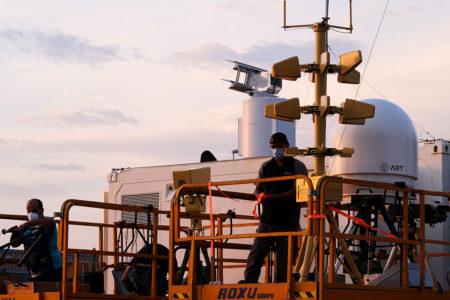 18 empresas fueron invitadas a preentar sus sistemas anti drones en el aeropuerto de Asturias.
