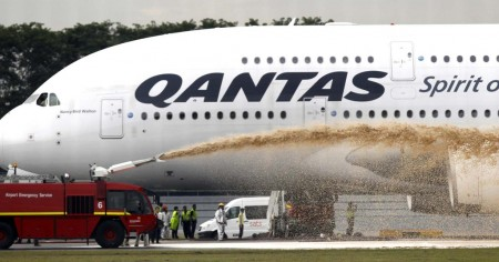 Accidente Airbus A380 de Qantas