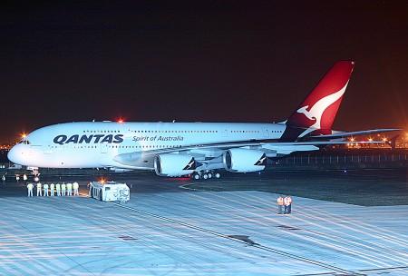 Airbus A380 VH-OQA de Qantas