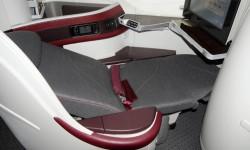 El Boeing 787-8 de Qatar Airways cuenta con 22 asientos de clase business.1El Boeing 787-8 de Qatar Airways cuenta con 22 asientos de clase business.
