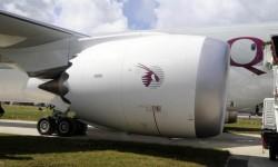 Qatar Airways ha elegido los motores General Electric GEnx.