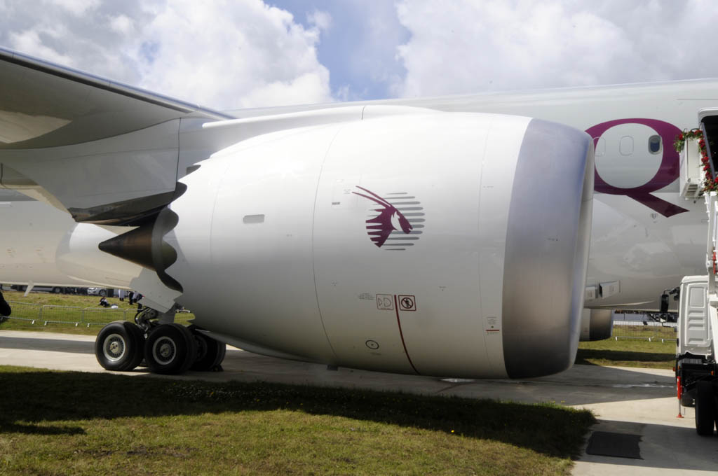 Qatar Airways ha elegido los motores General Electric GEnx.