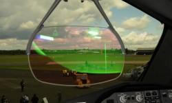 En el HUD del Boeing 787 los pilotos tienen toda la información básica para el vuelo.