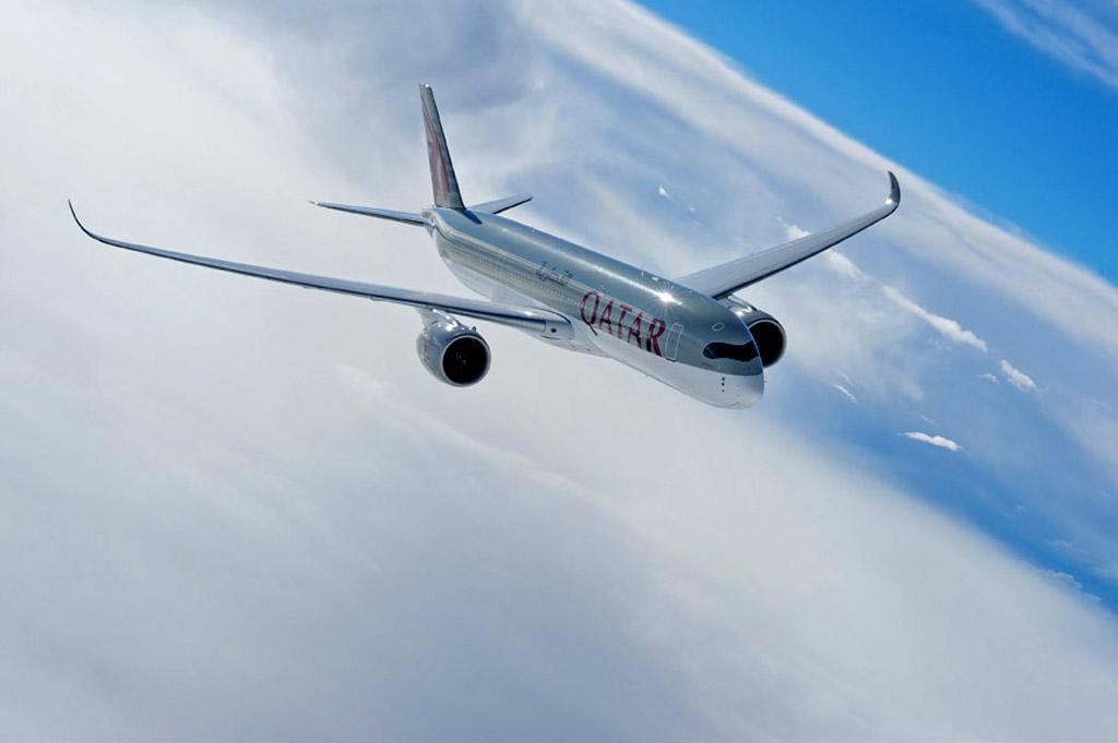 Qatar Airways tiene pedidos 80 A350 de los que ya ha recibido 3.
