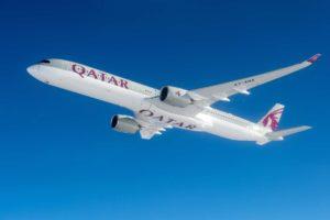 Qatar Airways pondrá en servicio inicialmente su nuevo Airbus A350-1000 entre Doha y Londres.