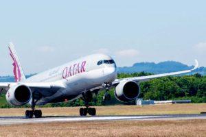 Qatar Airways usará el Airbus A350-900 en dos de sus tres vuelos diarios a Madrid desde septiembre.