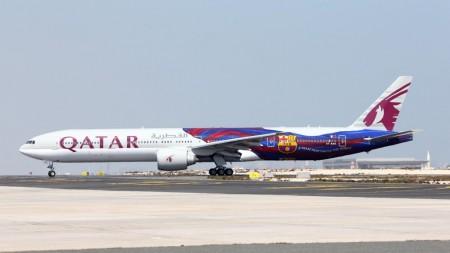 Boeing 777-3DZ ER A7-BAE