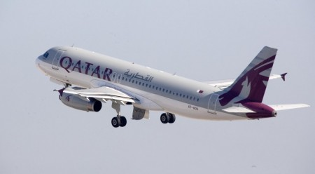 Airbus A320 de Qatar Airways