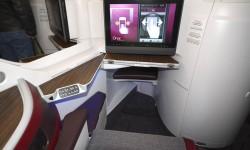 La clase Business de Qatar Airways cuenta con 36 asientos en el Airbus A350-900.