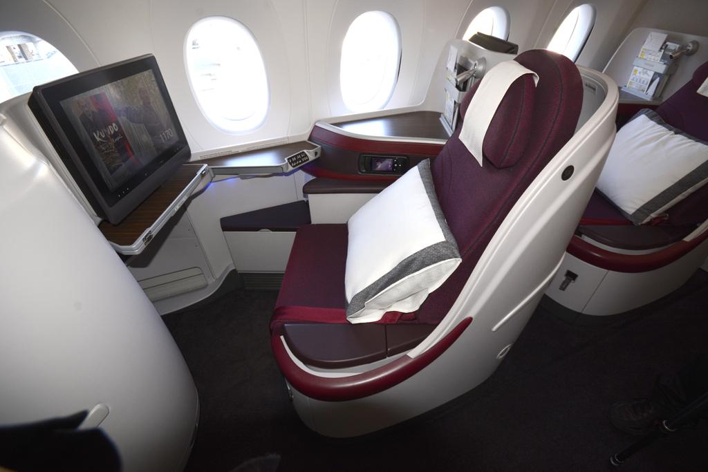 Los asientos de ventanilla van girados hacia ellas a diferencia de otras aerolíneas en las que estos miran al pasillo.