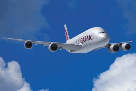 Airbus A380 de Qatar Airways