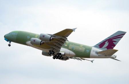 Airbus A380 de Qatar Airways